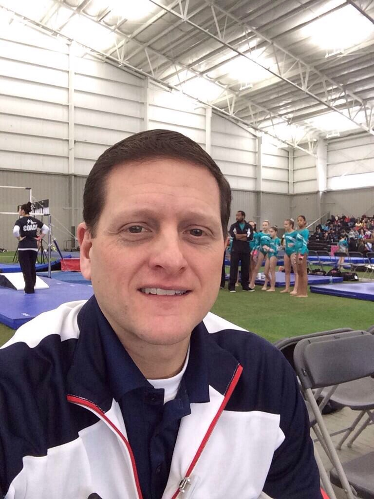Dr Bicos Covering Oakland Gymnastics Meet Performance