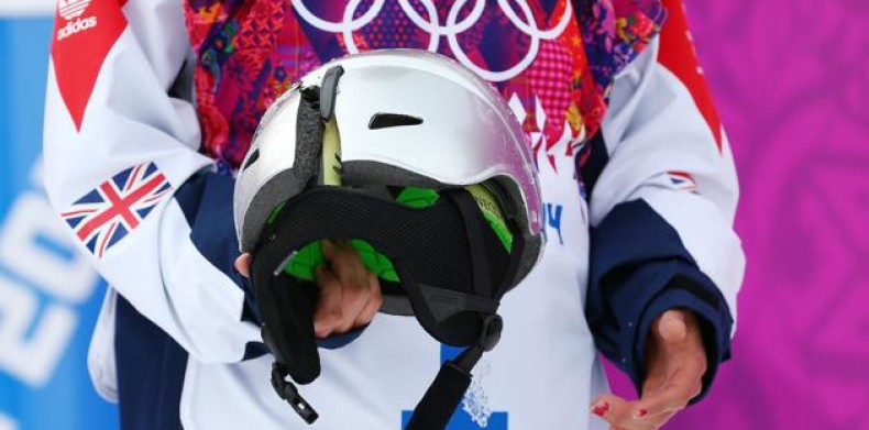 Snowboarder's helmet probably saved her life at Sochi Olympics!